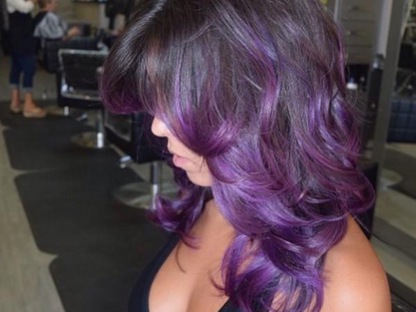 Purple Ombre
