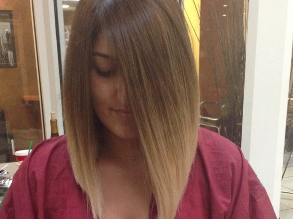 Color Melt & Long Bob